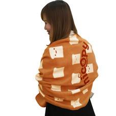 Nicopy ผ้าห่มลายขนมปังโมชิ (สีส้ม) รุ่น NCP-CI-040001-O