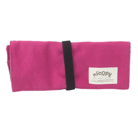 Nicopy กระเป๋าดินสอ (สีชมพู) รุ่น NCP-BG-040002-PI