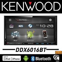 KENWOOD DDX-6016BT วิทยุติดรถยนต์, จอ 2 DIN มีบลูทูธ