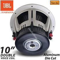 JBL ซับวูฟเฟอร์, ซับ, ซับเบส, ซับเหล็กหล่อ, ซับโครงหล่อ, ซับ10นิ้ว เหล็กหล่อ วอยส์คู่ แม่เหล็ก1ชั้น JBL-GTO1014D จำนวน 1ข้าง