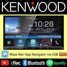 KENWOOD วิทยุจอ 2 DIN มีบลูทูธ KENWOOD-DDX7018BT
