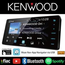 KENWOOD DDX-718WBT วิทยุติดรถยนต์ จอ 2 DIN หน้าจอ WIDE ขนาด 7 นิ้ว (NEW 2018)