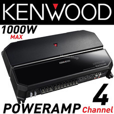 KENWOOD เพาเวอร์แอมป์ 4 ชาแนล Class AB 4CH KENWOOD KAC-PS704EX
