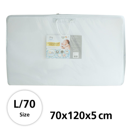 Airy (แอร์รี่) - เบาะนอนหายใจผ่านได้ สำหรับทารก Size L/70 (70 x 120 x 5 cm)
