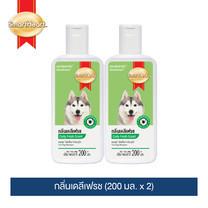 สมาร์ทฮาร์ท แชมพูกำจัดเห็บสำหรับสุนัข กลิ่นเดลีเฟรช ขนาด 200 มล. แพ็ค 2 ขวด /SmartHeart Tick Dog Shampoo Daily Fresh Scent 200 ML. Pack 2