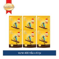 สมาร์ทฮาร์ท อาหารนกแก้ว สูตรออพติมั่ม นิวทริชั่น 400 กรัม (แพ็ค 6 ถุง) / SmartHeart Parrot & Conures 400 g (Pack 6)
