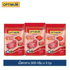 ออพติมั่ม ปลาหมอสี  (เม็ดกลาง) 300 กรัม (แพ็ค3) / Optimum Cichild (Kibble M) 300g. (3Packs)