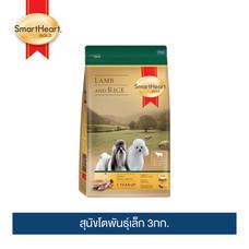 สมาร์ทฮาร์ท โกลด์ แกะและข้าว สุนัขโตพันธุ์เล็ก 3กก. / SmartHeart GOLD Lamb and Rice Adult Small Breed 3kg