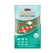 เอ โปร ไอคิว ฟอร์มูล่า (เม็ดเขียว, เม็ดใหญ่) 1 kg. (แพ็ค2) / A Pro I.Q. Formula (Green Pellet, L) 1kg (2 Packs)