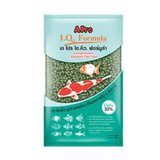 เอ โปร ไอคิว ฟอร์มูล่า (เม็ดเขียว, เม็ดเล็ก) 1 kg. (แพ็ค2) / A Pro I.Q. Formula (Green Pellet, S) 1kg (2 Packs)
