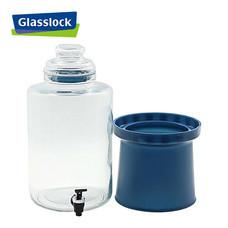 Glasslock โถแก้ว พร้อมก๊อกจ่ายน้ำผลไม้ ความจุ 6,900 ml. รุ่น IP-602 (DB)