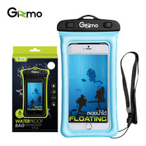 Gizmo ซองกันน้ำมือถือ WaterProof Bag รุ่น GW002 สี Blue