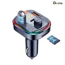 Gizmo บลูทูธในรถยนต์ ขยายสัญญาณบลูทูธในรถ Car Bluetooth PD Charger รุ่น GG-009