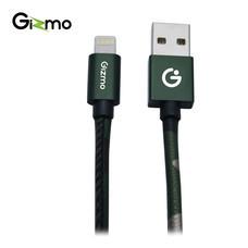 Gizmo Cable iOS Camo สายชาร์จมือถือ รุ่น GU-005 1000 มม. (Green)