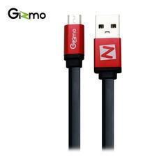 Gizmo Cable Micro สายชาร์จAndroid สายแบน 2 เมตร รุ่น GU-006-4 สี Black