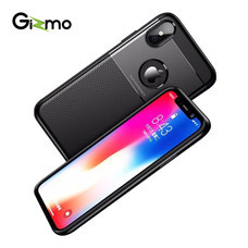 Gizmo เคส iPhone Tough Layer For iPhone X/XS, iPhone XS Max, iPhone XR เคสมือถือ Case iPhone รุ่น GZ008 สีดำ
