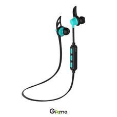 Gizmo หูฟัง Bluetooth Sport Earphone รุ่น GB-02 สีฟ้า