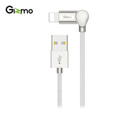 Gizmo สายชาร์จไอโฟน สาย Lightning USB G-Kin Series For iOS ยาว 1 เมตร รุ่น GU-010 สี White