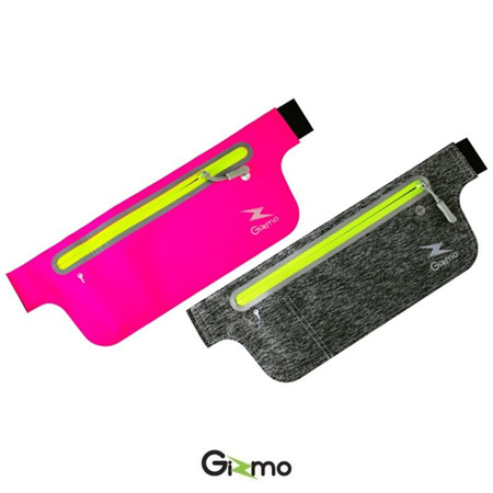 Gizmo กระเป๋าคาดอก คาดเอว กระเป๋าวิ่ง แท้ 100% กระเป๋าออกกำลังกาย เบา มีรูใส่หูฟัง Running Bag รุ่น GG-004