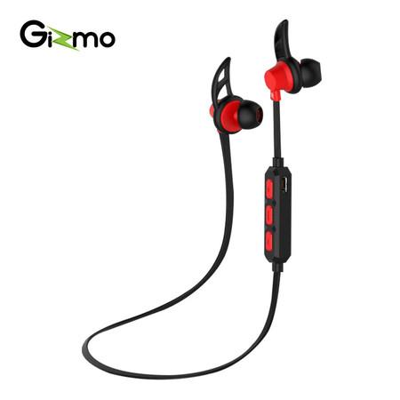 Gizmo หูฟัง Bluetooth Sport Earphone รุ่น GB-02 สีแดง