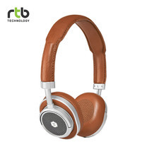 Master & Dynamic หูฟังไร้สาย รุ่น MW50 + Wireless Bluetooth 2-In-1 On-Ear + Over-Ear Headphones - Brown/Silver