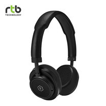 Master & Dynamic หูฟังไร้สาย รุ่น MW50 + Wireless Bluetooth 2-In-1 On-Ear + Over-Ear Headphones - Black/Black