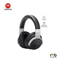 Motorola หูฟังบลูทูธ รุ่น Escape 500 ANC Wireless Headphones with Active Noise Cancelling - Black