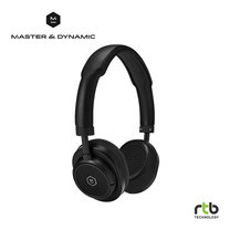 Master & Dynamic หูฟังไร้สาย รุ่น MW50 + Wireless Bluetooth 2-In-1 On-Ear + Over-Ear Headphones - Black/Black