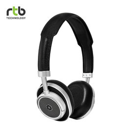 Master & Dynamic หูฟังไร้สาย รุ่น MW50 + Wireless Bluetooth 2-In-1 On-Ear + Over-Ear Headphones - Silver/Black