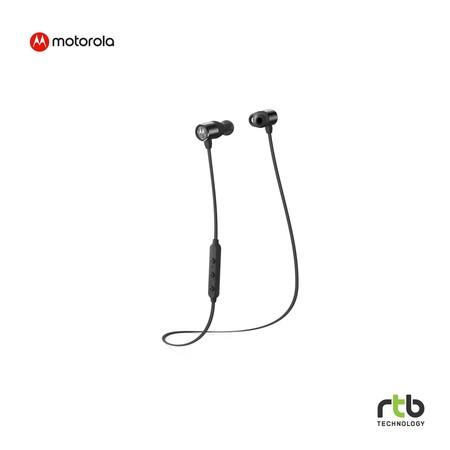 Motorola หูฟังบลูทูธ รุ่น VerveLoop 200 Wireless In-Ear Headphones - Black