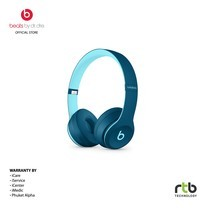 Beats หูฟังไร้สาย รุ่น Solo3 Wireless On-Ear Headphones - Beats Pop Collection - Blue