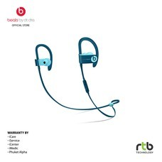 Beats หูฟังไร้สาย รุ่น Powerbeats  Wireless Earphones - Beats Pop Collection -  Blue