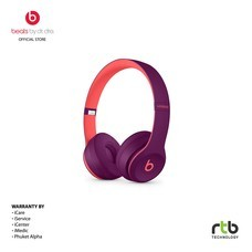 Beats หูฟังไร้สาย รุ่น Solo3 Wireless On-Ear Headphones - Beats Pop Collection - Magenta