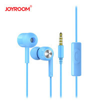 หูฟัง Joyroom E102-S Earphone-Blue