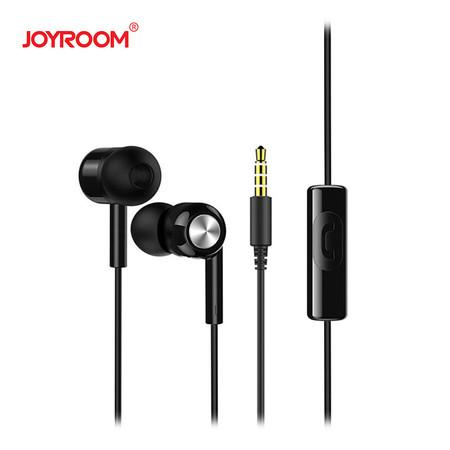 หูฟัง Joyroom E102-S Earphone-Black