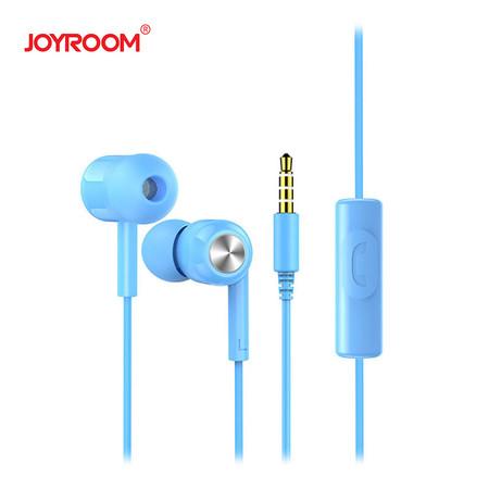 หูฟัง Joyroom E102-S Earphone-Blue