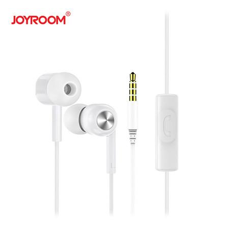 หูฟัง Joyroom E102-S Earphone-White