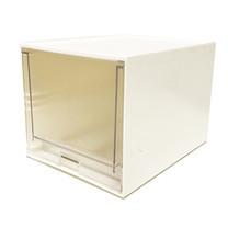 UDEE กล่องลิ้นชักรุ่น 1 ชั้น - สีขาว (ลิ้นชักใส)