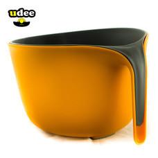 UDEE ตะกร้ากรอง 2 ชั้น - สีส้ม/เทา