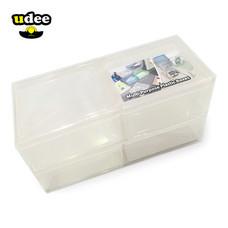 UDEE กล่องพลาสติกอเนกประสงค์ 4 ชิ้น รุ่น P4 - สีขาว