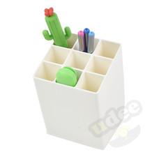 UDEE ช่องเสียบปากกา 9 ช่อง - สีขาว