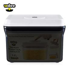 UDEE กล่องถนอมอาหารปุ่มกดซีลอากาศ 1 ลิตร รุ่นกันยูวี
