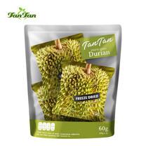 TAN TAN ทุเรียนอบกรอบ ขนาด 60 กรัม Freeze Dried Durian 60 G. TANTAN TANTANFOOD