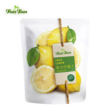 TAN TAN เลมอนอบแห้ง ขนาด 70 กรัม/แพค 3 ซอง ตราทานทาน TANTAN Dried Lemon Slice 70 G. TANTANFOOD