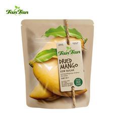 TAN TAN มะม่วงอบแห้ง สูตรน้ำตาลน้อย ขนาด 100 กรัม/แพค 3 ซอง ตราทานทาน TANTAN Dried Mango Low Sugar 100 G. TANTANFOOD