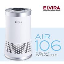 [1 แถม 1] Elvira Air Purifier เครื่องฟอกอากาศ รุ่น Air 106 (8-25 ตรม.)