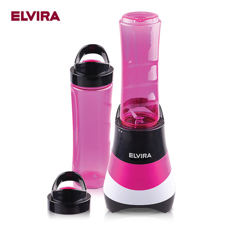 ELVIRA Blender เครื่องปั่น รุ่น Grab & Go (Strawberry)