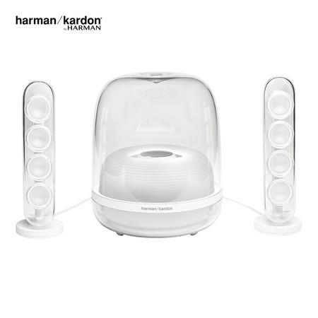 ลำโพงบลูทูธ Harman Kardon SoundSticks 4 - White