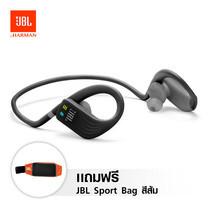 หูฟังบลูทูธสำหรับออกกำลังกาย JBL Endurance Dive with MP3 Player - Black แถมฟรี JBL Sport Bag สีส้ม 1 ใบ