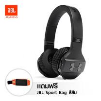 หูฟังบลูทูธออกกำลังกาย JBL Under Amour Train - Black แถมฟรี JBL Sport Bag สีส้ม 1 ใบ
